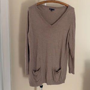Gap tunic sweater- Tan